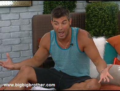 Big Brother Jeff tells Dom the truth about Dani