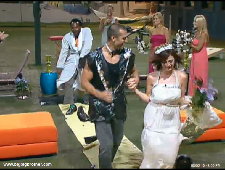 big brother 2011 Wedding Dance