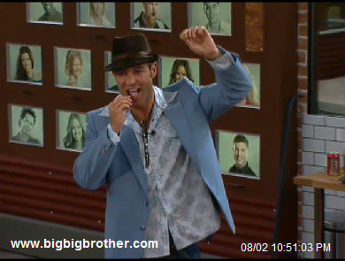 Big Brother Best Man-Jeff gives the toast