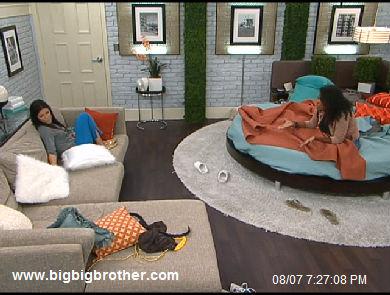 BB13 Kalia tells Dani her new plan