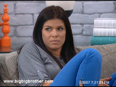 Big Brother 2011 Dani doesn't like it