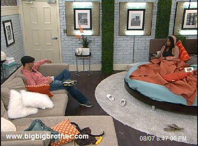Kalia and Jeff BB13