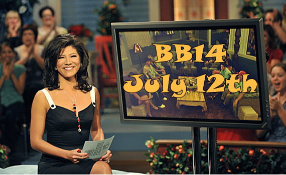 Big brother 14 Premiere– July 12