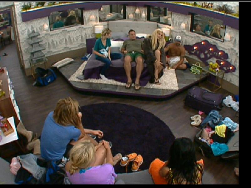 Fiery Alliance Meeting in the HOH Room