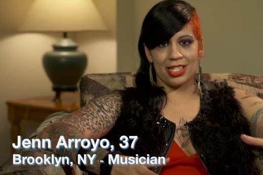 JENN ARROYO- a real rocker chick