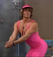 david-pink dress