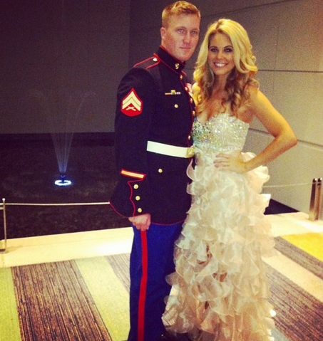 Big Brother 2013 Spoilers – Aaryn Gries at Marine Ball