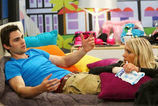 Big Brother 2013 Spoilers – GinaMarie Zimmerman and Nick Uhas