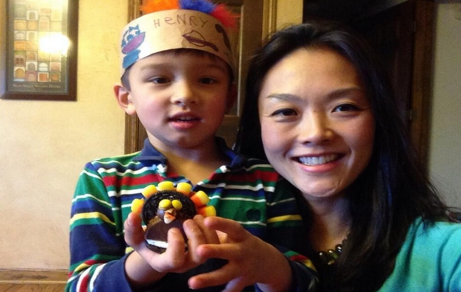 Big Brother 2013 Spoilers – Helen Kim with son