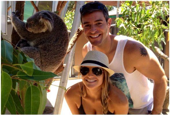 Big Brother Spoilers – Jeff and Jordan with koala