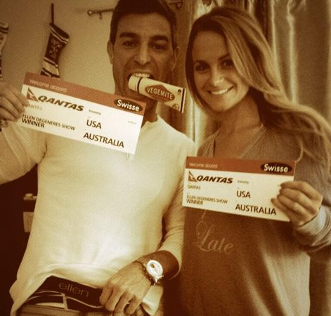 Big Brother Spoilers – Jeff and Jordan with tickets from Ellen Show