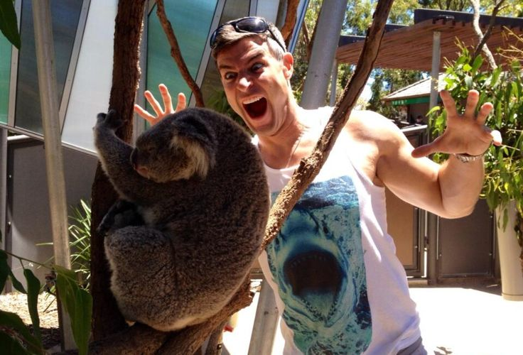 Big Brother Spoilers – Jeff with koala