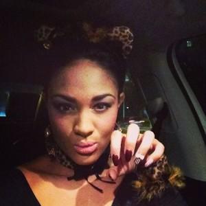 Candice Stewart on Halloween
