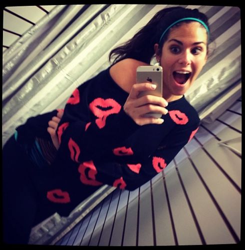 Big Brother 2013 Spoilers – Amanda Zuckerman in Kiss Sweater