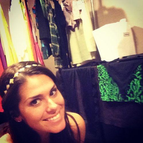 Big Brother 2013 Spoilers – Amanda Zuckerman models diamond crown