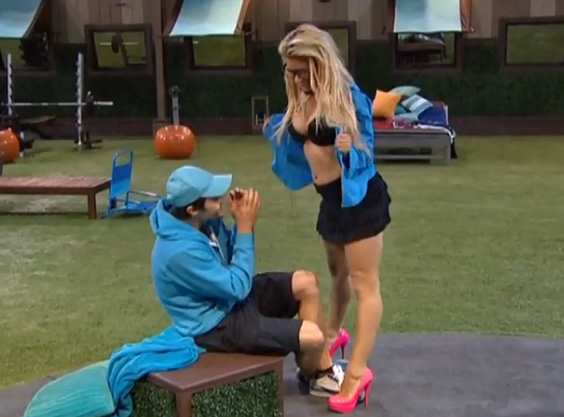 Nick Uhas Drama! » Big Brother 2014 Spoilers – GinaMarie and Nick 6