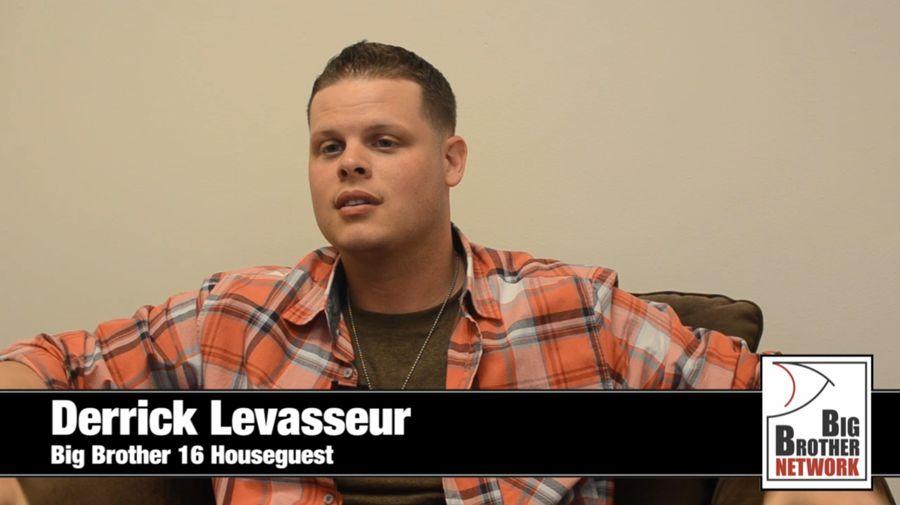 Big Brother 2014 Spoilers – Derrick Levasseur