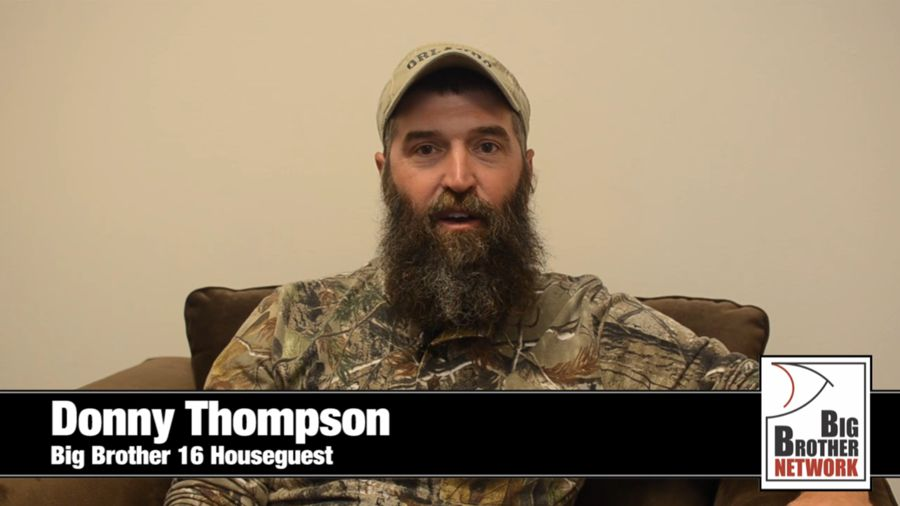 Big Brother 2014 Spoilers – Donny Thompson