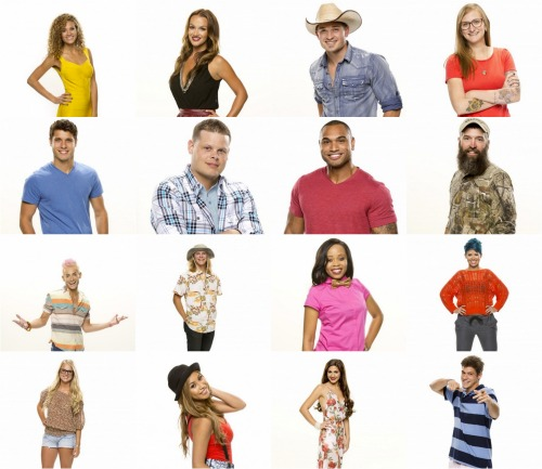 Big Brother 2014 Spoilers – Season 16 Cast
