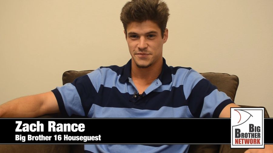 Big Brother 2014 Spoilers – Zach Rance