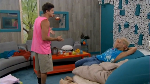 Big Brother 2014 Spoilers - Zach and Frankie Alliance