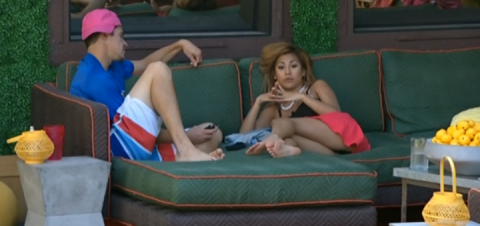 Big Brother 2014 Spoilers - Zach and Paola