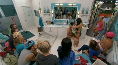 Big Brother 2014 Spoilers - Caleb Shaves Head