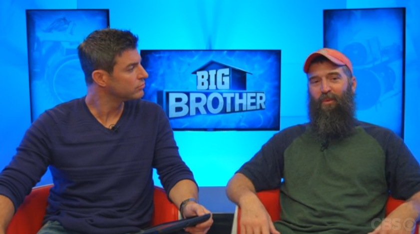Big Brother 2014 Spoilers – Donny Thompson Eviction Interview
