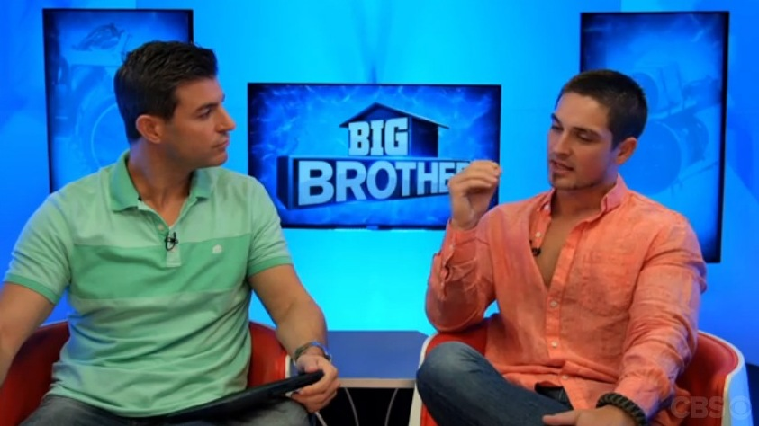 Big Brother 2014 Spoilers – Caleb Reynolds Eviction Interview