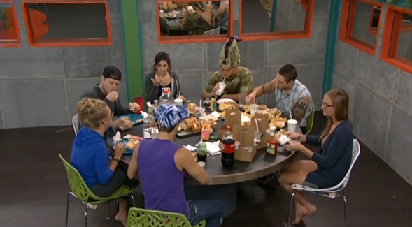 Big Brother 2014 Spoilers – Meal Time