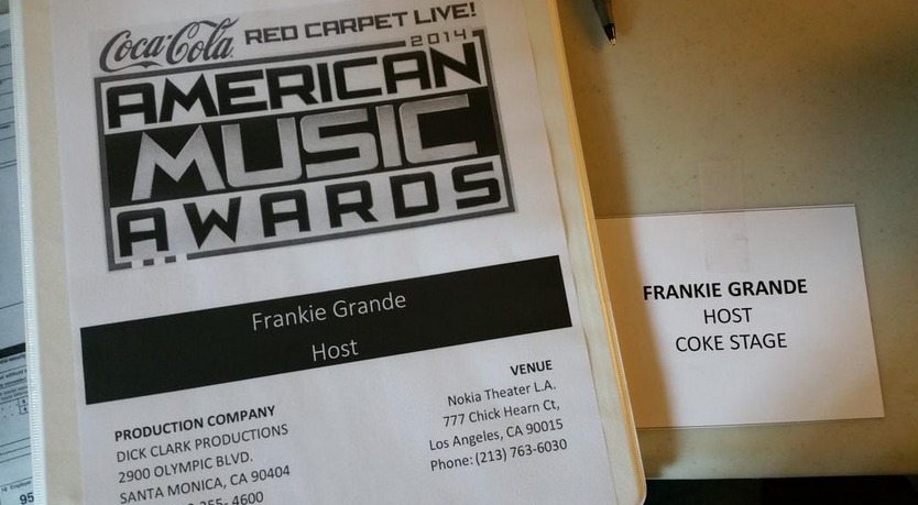 Big Brother 2014 Spoilers – Frankie Grande Shirtless At AMAs 5