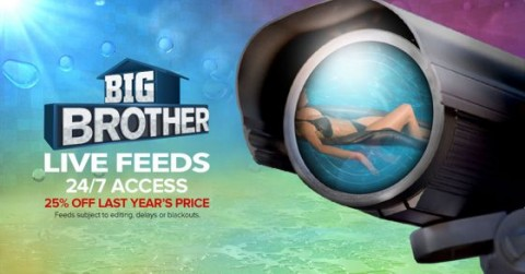 Big Brother Live Feeds Ads