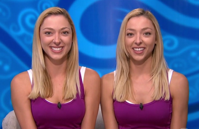 Big Brother 2015 Spoilers – Twin Twist – Liz and Julia