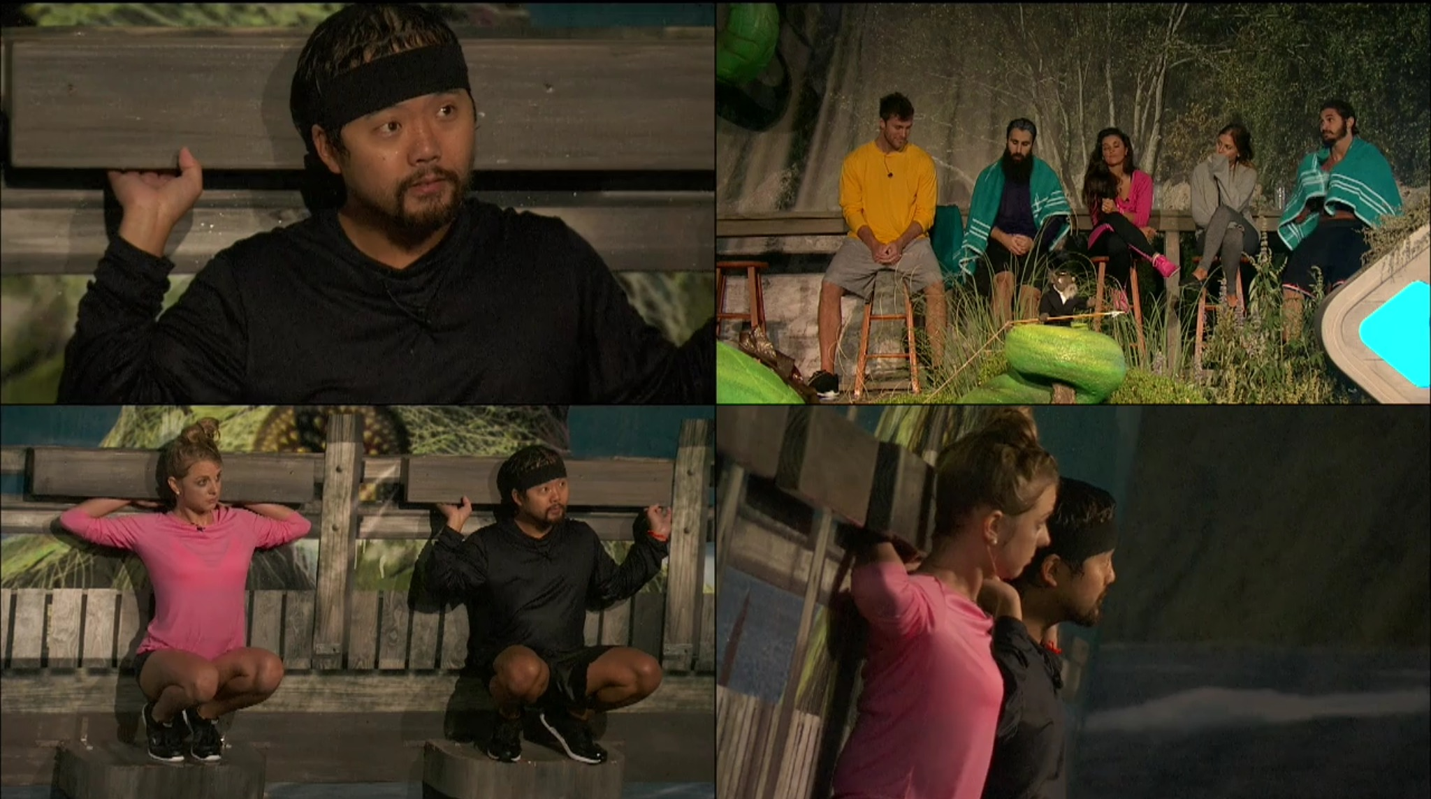 Big Brother 18-HOH Wk 10 comp