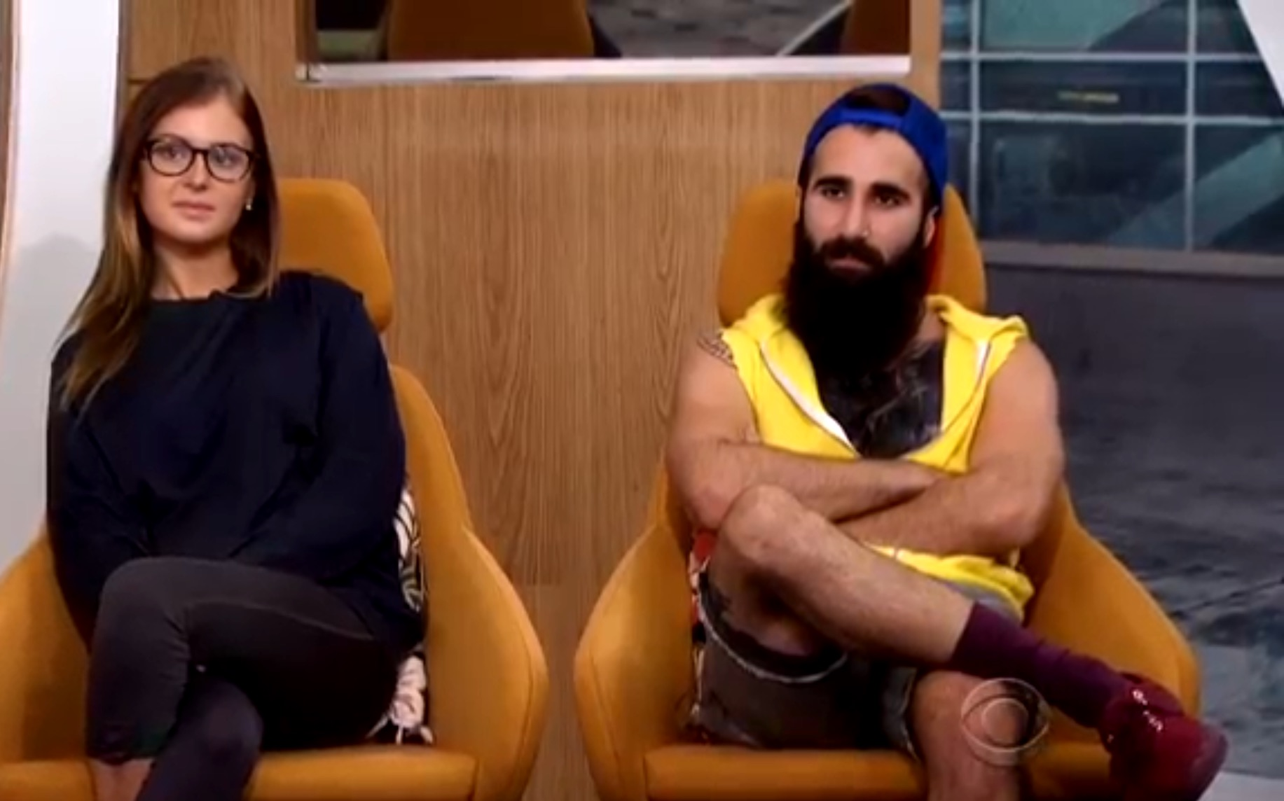Big Brother 2016-Paul and Michelle