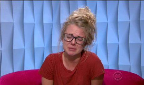 Nicole Franzel crying