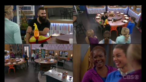 Big Brother Over the Top week 4 HOH