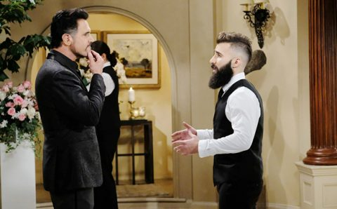 Paul Abrahamian on the Bold and The Beautiful with Don Diamont