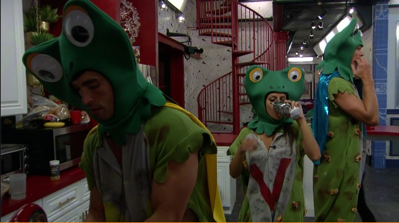 Jessica, Cody and Jason as V-Toads