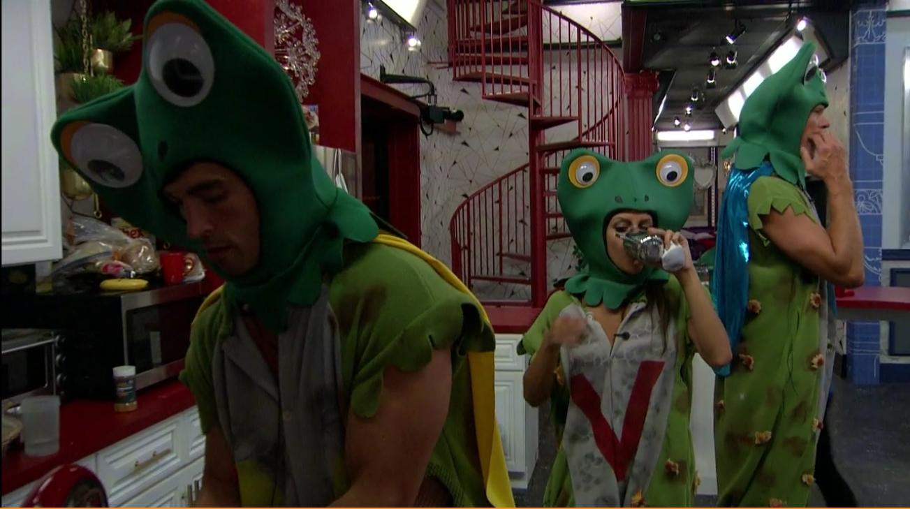 Jessica, Cody and Jason as V-Toads