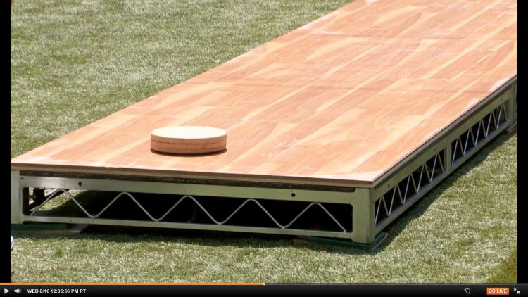 Backyard Suffleboard Practice 5