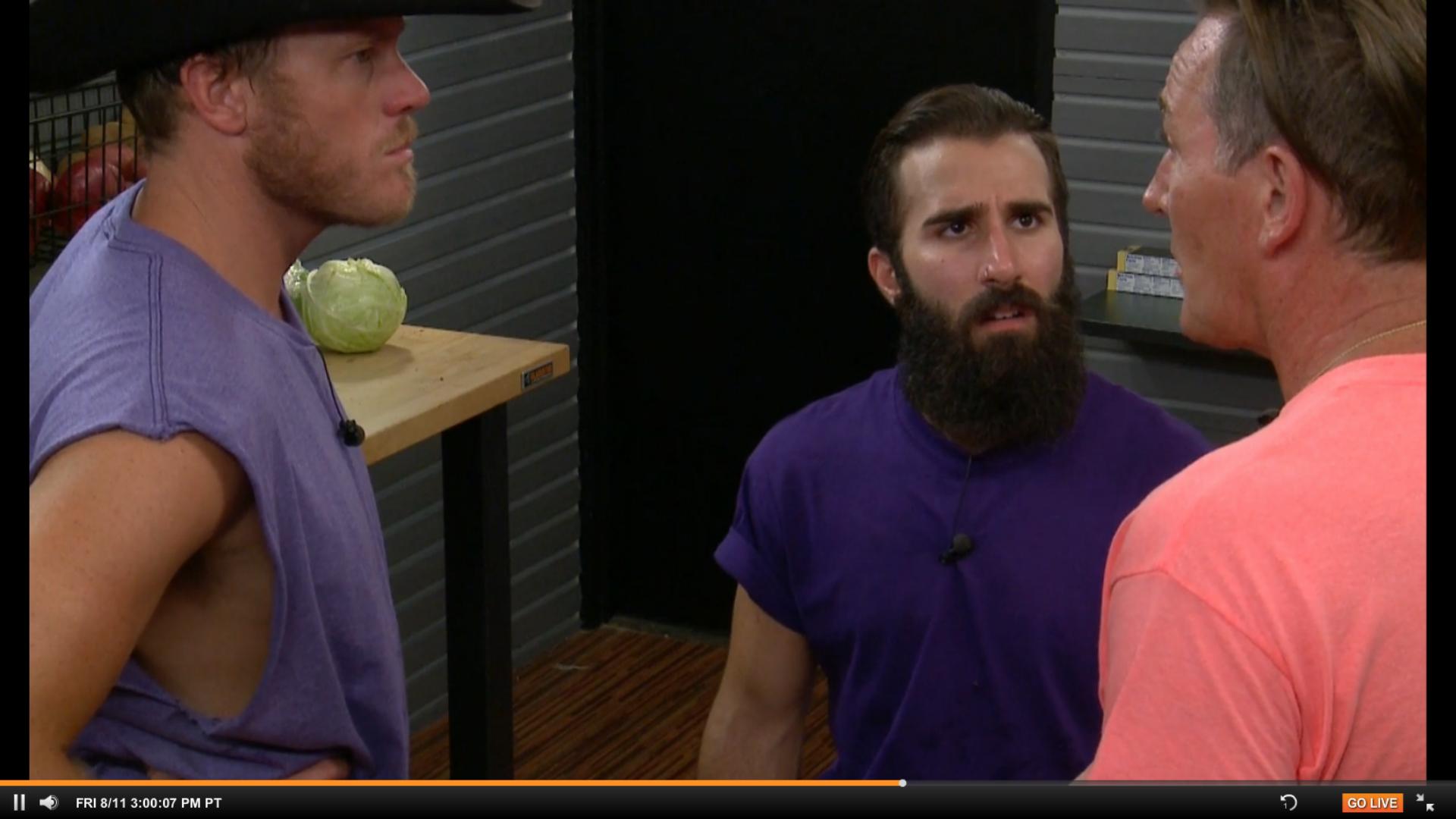 Big Brother 19 Live Feeds Recap Week 7 – Friday