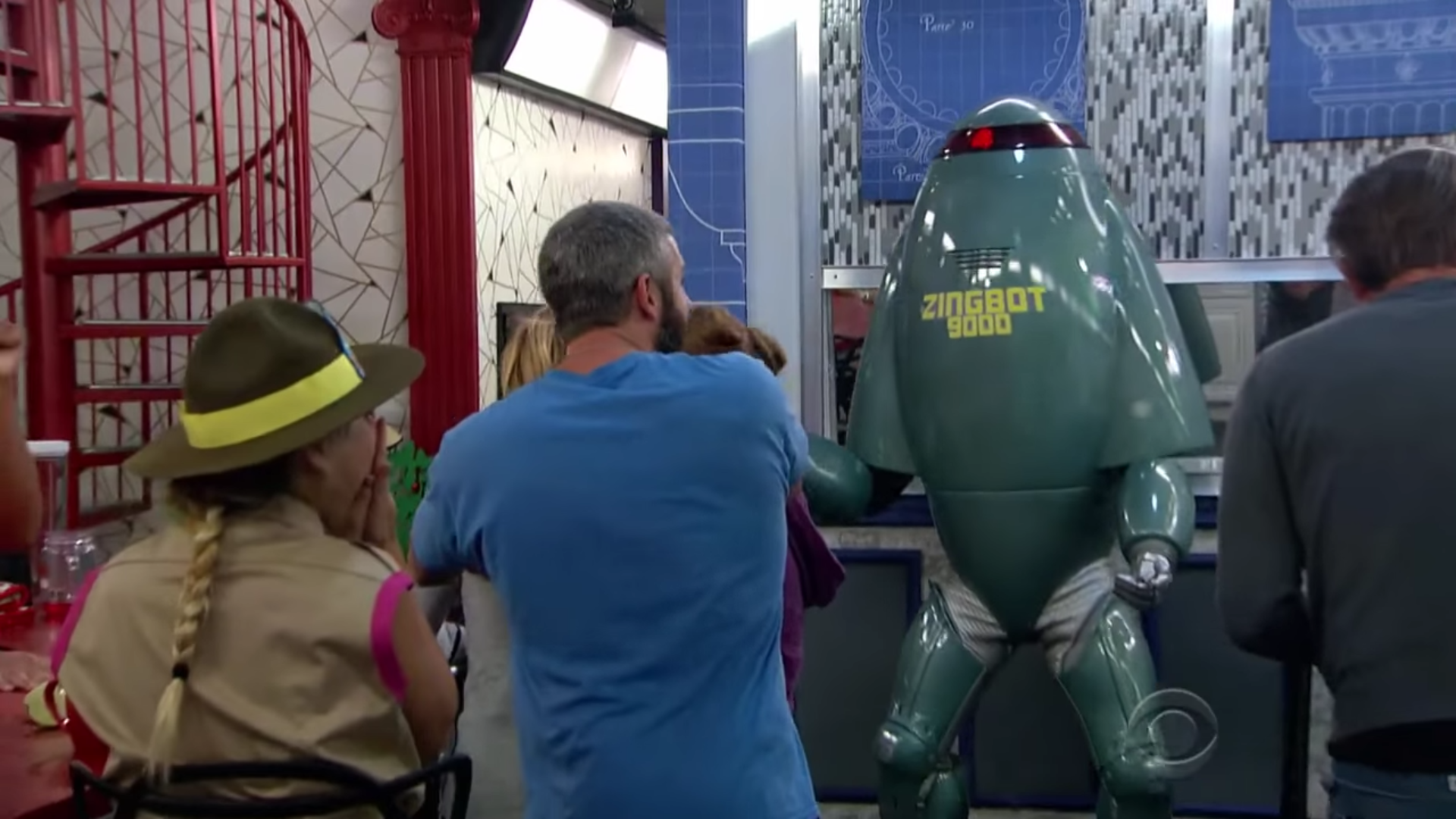 Big Brother 19 Live Recap Episode 27 – Zingbot Visits!