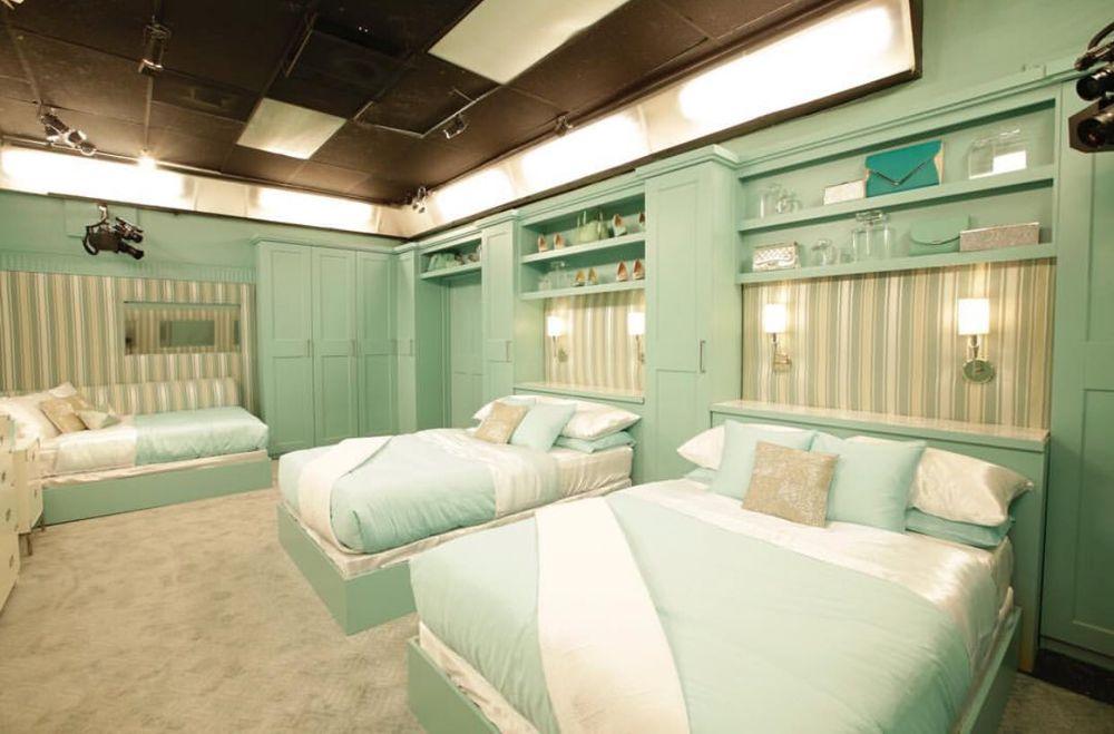 Celebrity Big Brother Bedroom