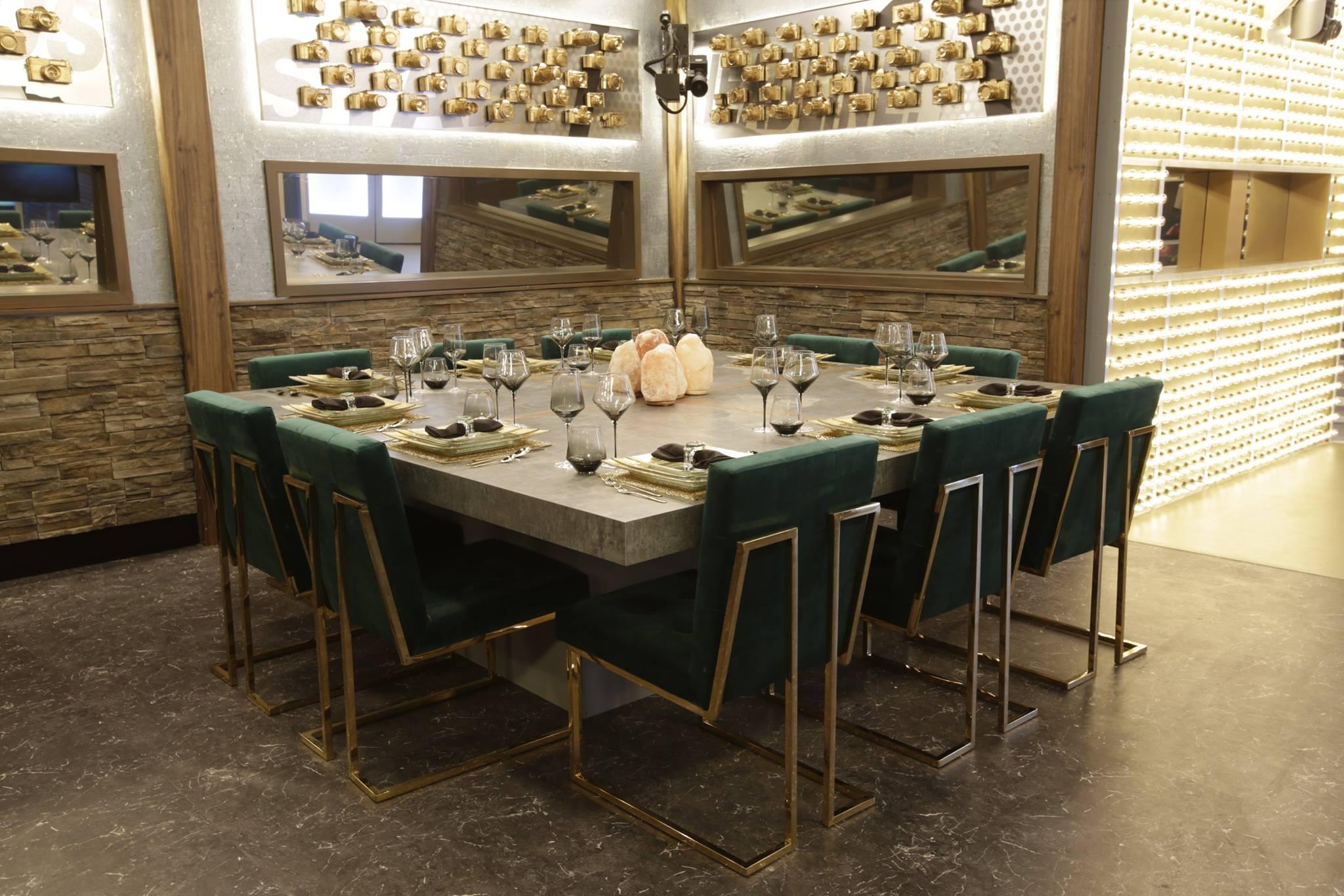 Celebrity Big Brother Dining Room