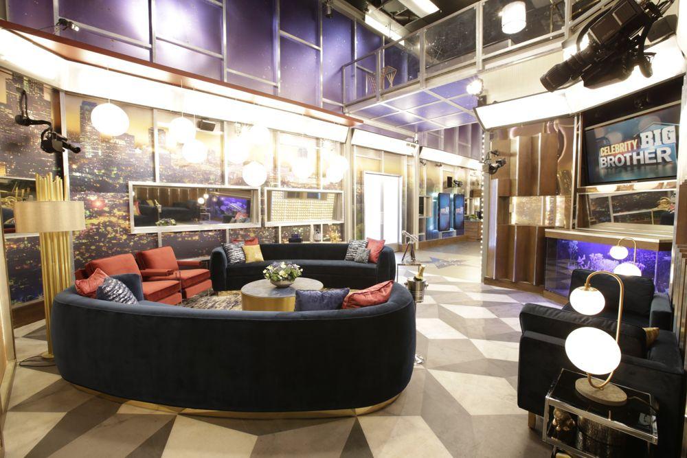 Celebrity Big Brother Living Room 3