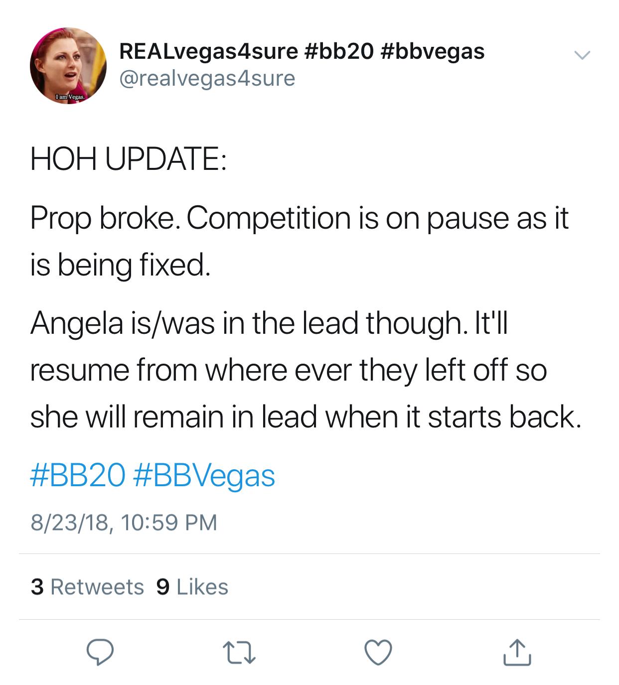 HOH Update