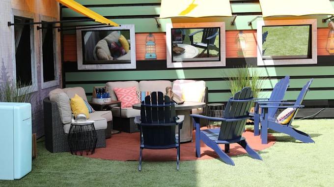 Backyard Seating Area