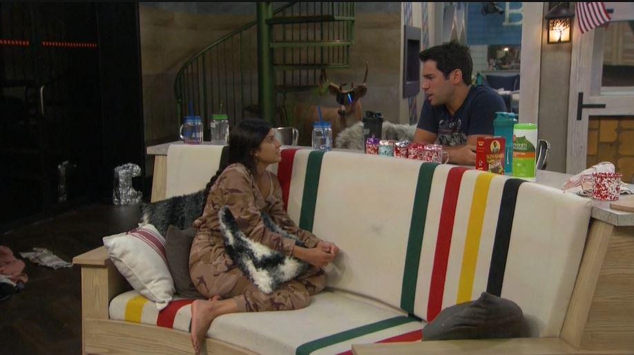 Big Brother 21 Live Feeds Recap Week 5 – Thursday