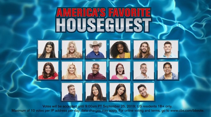 Big Brother 2019 Poll Who Is Your Pick For America's Favorite Player (POLL)